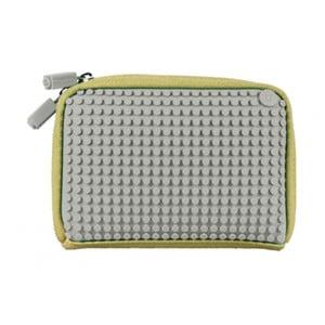 Pixelová taštička, beige/light grey