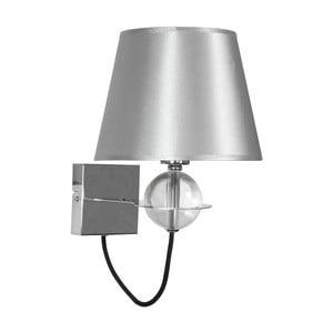 Nástenné svetlo Tesoro Silver