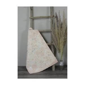Svetloružová bavlnená kúpeľnová predložka My Home Plus Sensation, 60×90 cm