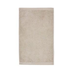 Béžový uterák z egyptskej bavlny Aquanova London, 30 x 50 cm