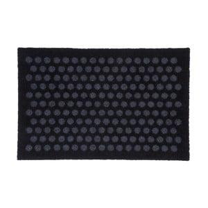 Čierno-sivá rohožka Tica Copenhagen Dot, 40 x 60 cm