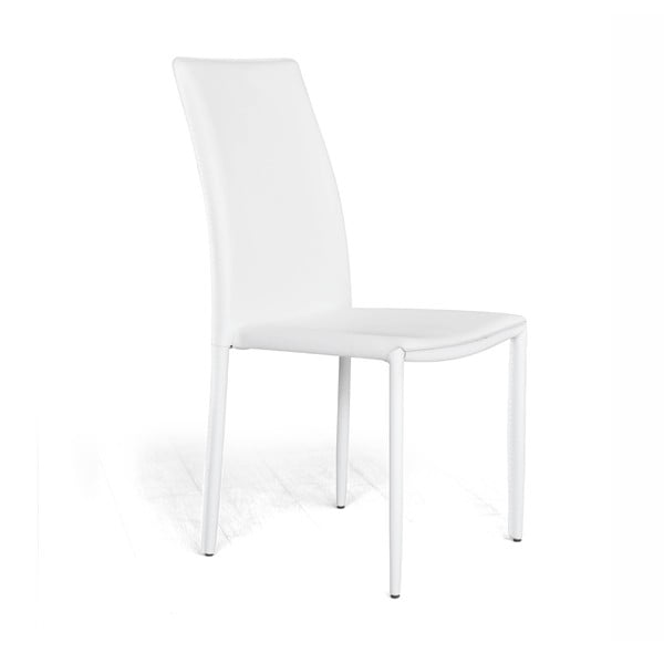 Jedálenská stolička Dedis Plus, biela