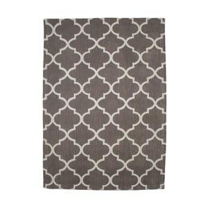 Bavlnený koberec Boho Grey/White, 120x180 cm