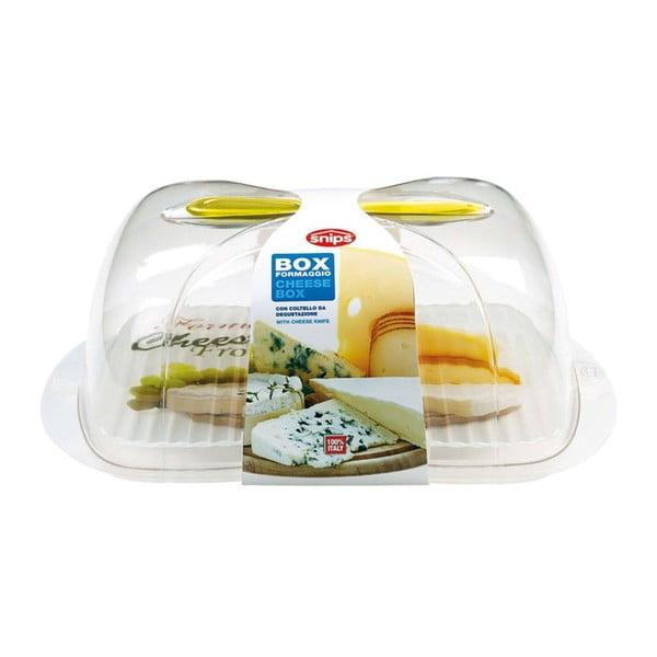 Dóza na syry s nožom Snips Cheese