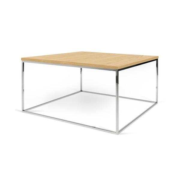 Konferenčný stolík s chrómovými nohami TemaHome Gleam, 75cm