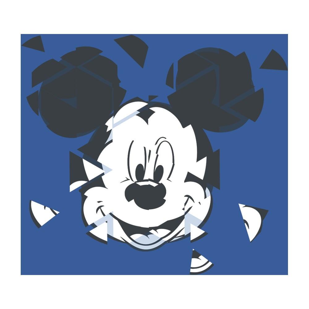 Obraz Pyramid International Mickey Mouse Broken Blue, 40 × 40 cm