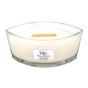 Sviečka s vôňou vanilky, medu a ruže Woodwick Detský púder, doba horenia 80 hodín