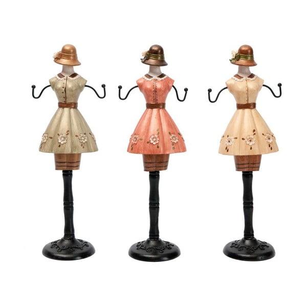 Sada 3 dekoratívnych figúrok Ladies