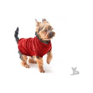 Červený svetrík pre psov Marendog Trip, veľ. XS