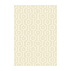 Koberec Asiatic Carpets Echo Geo Cream, 120 x 170 cm