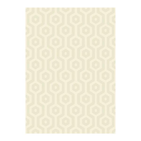 Koberec Asiatic Carpets Echo Geo Cream, 120x170cm