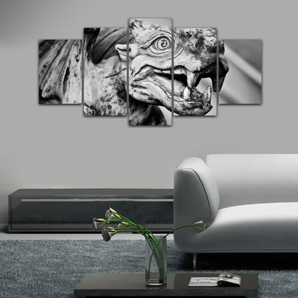 Viacdielny obraz Black&White no. 27, 100x50 cm