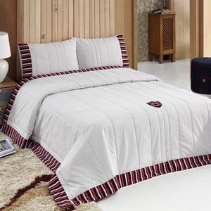 Sada prikrývky na posteľ a vankúšov Stanford, 240x250 cm
