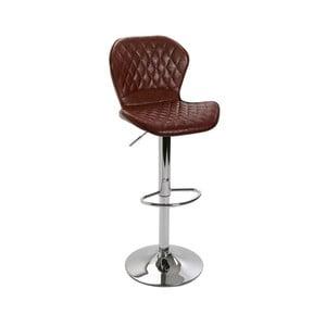 Čierna barová stolička Versa Bar, výška 106 cm