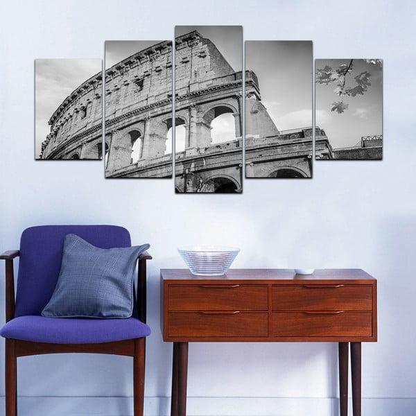 Viacdielny obraz Black&White no. 93, 100x50 cm