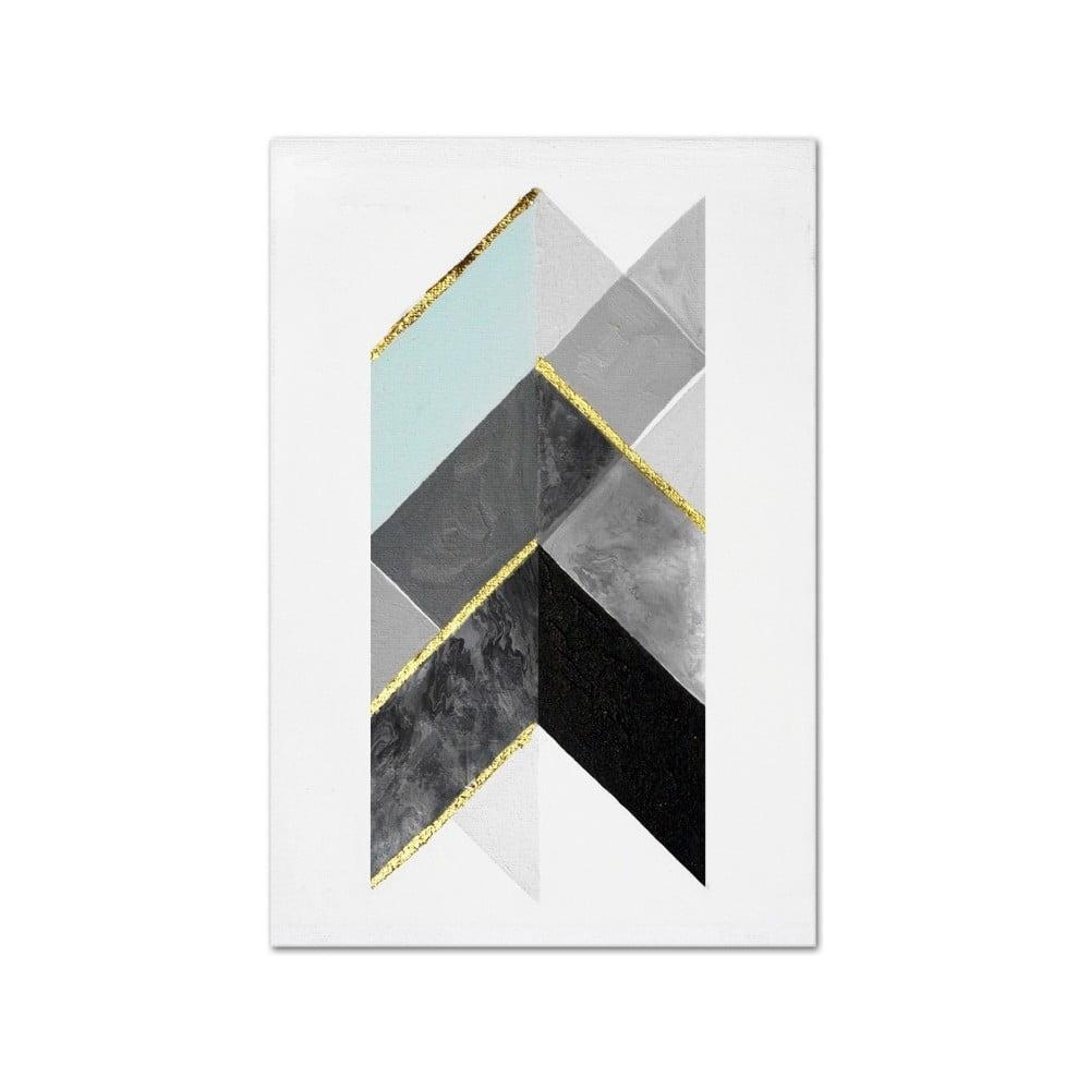 Nástenný ručne maľovaný obraz JohnsonStyle The Direction, 60 x 90 cm