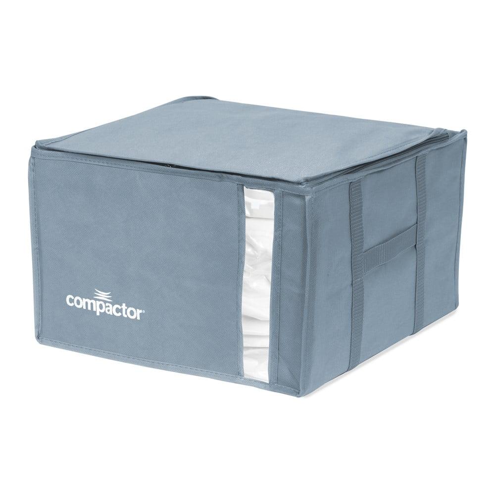 Modrý úložný box na oblečenie Compactor XXL Blue Edition 3D Vacuum Bag, 125 l