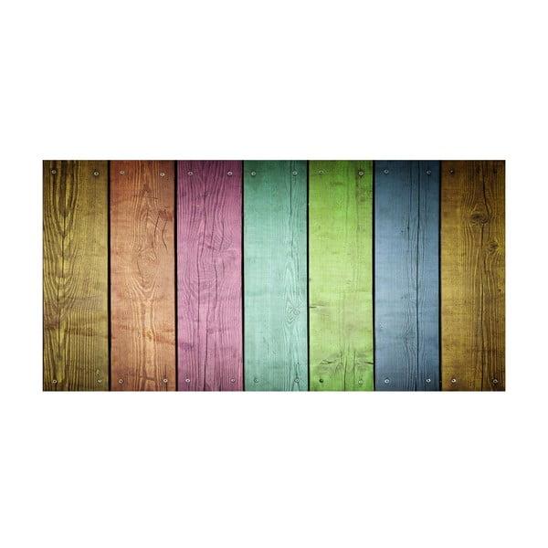 Koberec z vinylu Cocina Tablas Colores, 50x100 cm