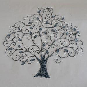 Hnedá dekorácia na stenu Dakls Tree