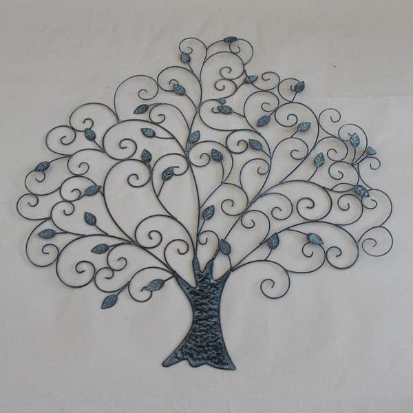 Kovová nástenná dekorácia Dakls Tree