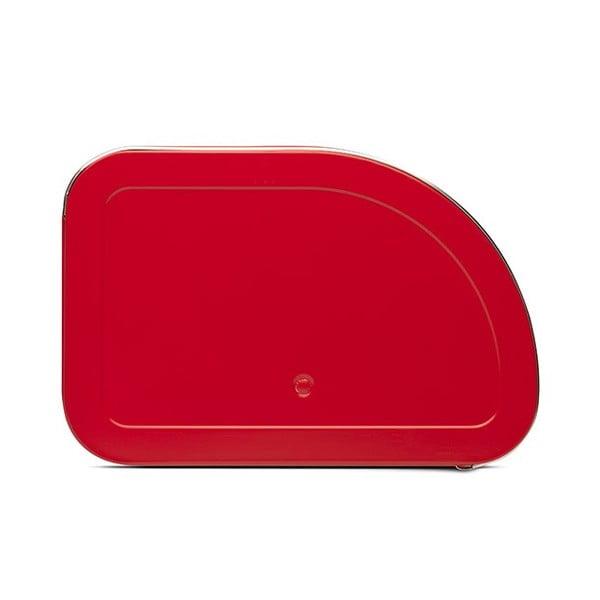 Červený chlebník Brabantia Roll Top