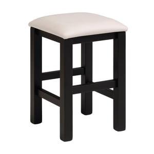 Čierno-biela stolička Parisot Orléans
