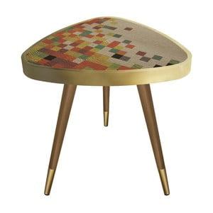Príručný stolík Maresso Pi×el Triangle, 45 x 45 cm