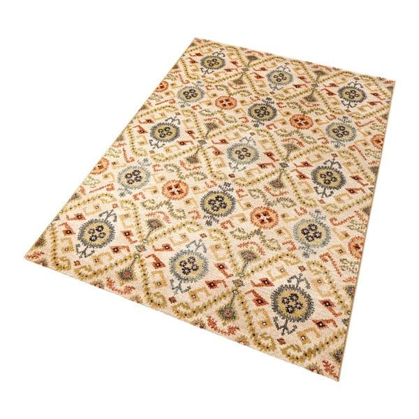 Béžový koberec Mint Rugs Diamond Ornament, 133 x 195 cm