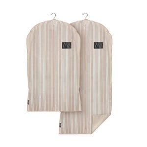 Sada 2 obalov na oblečenie Domopak Stripes