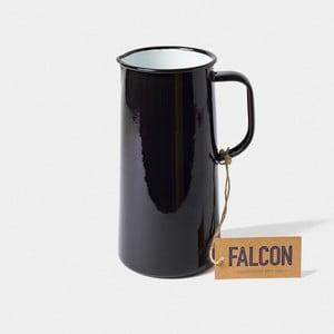 Čierny smaltovaný džbán Falcon Enamelware TriplePint, 1,704 l