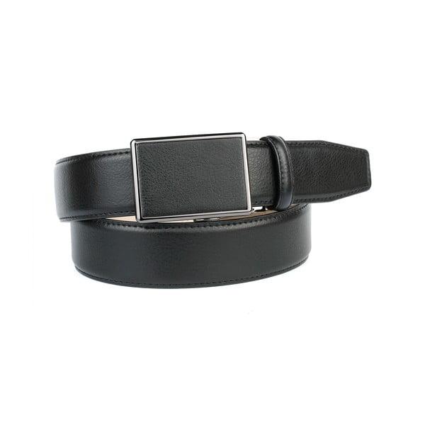 Unisex kožený opasok 39T10S Black, 100 cm