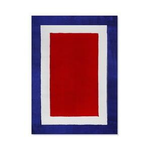 Detský koberec Mavis Blue and Red Mix, 100x150 cm