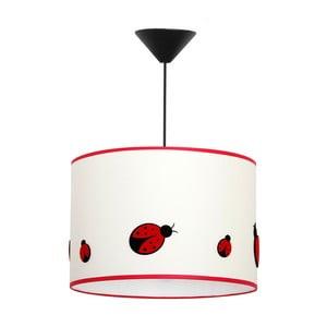 Závesné svietidlo Glimte Ladybug