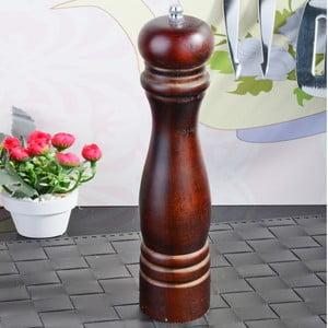 Hnedý bambusový mlynček na korenie Luxury