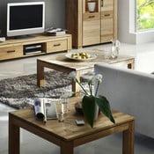 Konferenčný stolík z dubu SIT, 80 cm