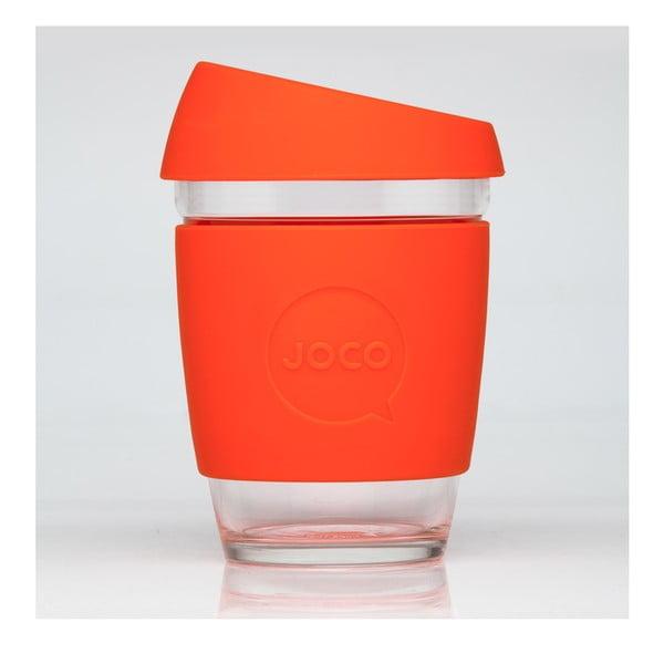 Eko hrnček na kávu Joco Cup 340 ml, oranžový