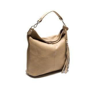 Béžová kožená kabelka Isabella Rhea 1152