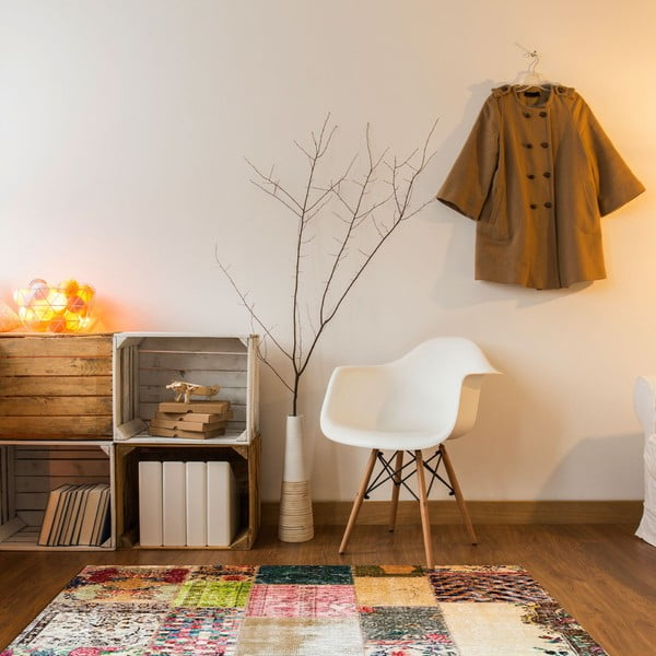 Odolný vinylový koberec Vintage Tiles, 60×100cm