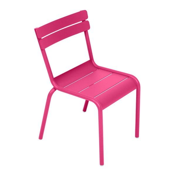 Ružová detská stolička Fermob Luxembourg