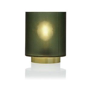Zelená sklenená olejová LED lampa Versa Relax, ⌀11,8 cm