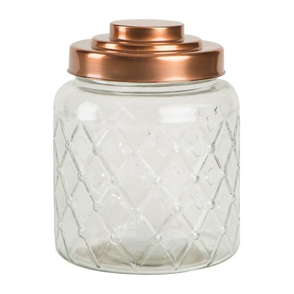 Sklenená dóza T&G Woodware Lattice, 2600 ml