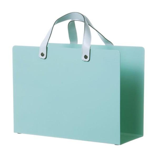 Stojan na časopisy Present Time Bag Glossy Mint