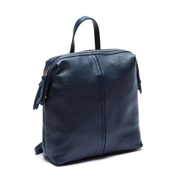 Modrý kožený batoh Sofia Cardoni Chiara