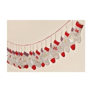 Adventný kalendár Winter Socks, 260 cm