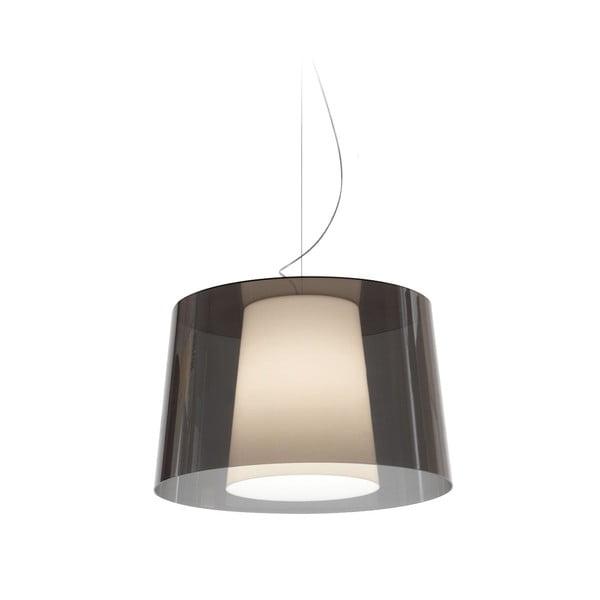 Sivé závesné svietidlo Pedrali L001S/BA