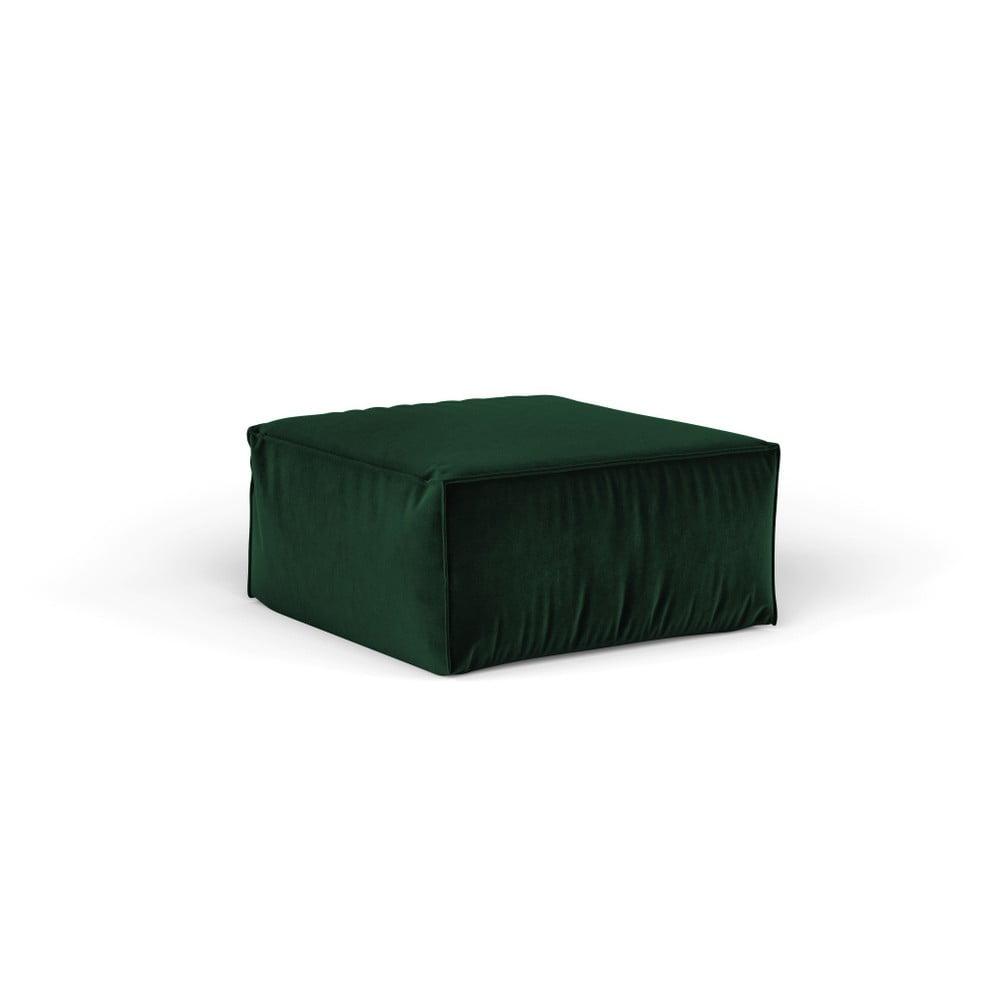 Zelený puf Cosmopolitan Design Florida, 65 × 65 cm