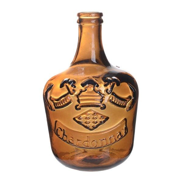 Sklenená váza Chardonnay, 30 cm, oranžová
