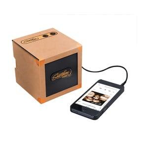 Prenosný reproduktor Luckies of London Smartphone Speaker Copper