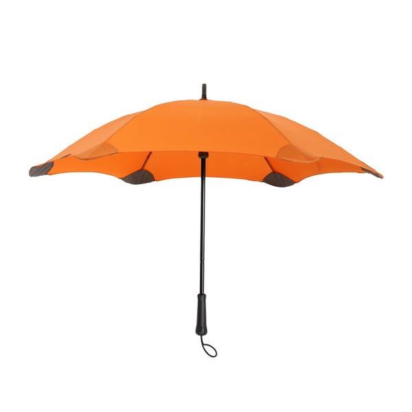 Vysoko odolný dáždnik Blunt Lite 110 cm, oranžový