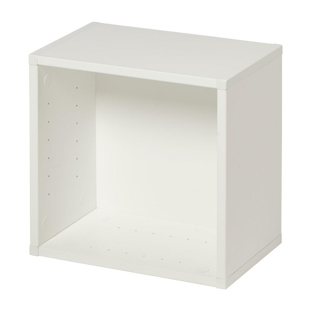 Biela police na knihy Manis-h Danis, šírka 32'cm